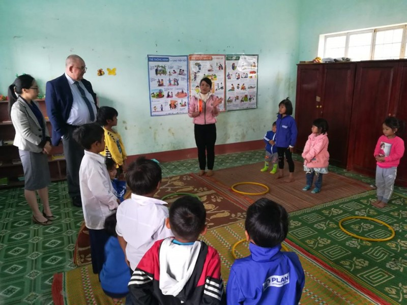 belgium actively supports quality early childhood education in kon tum