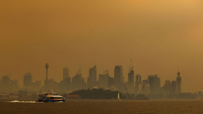 smoke from australia bushfires reaches south america