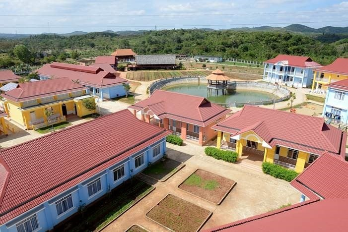 maison chances social center in dak nong province inaugurated