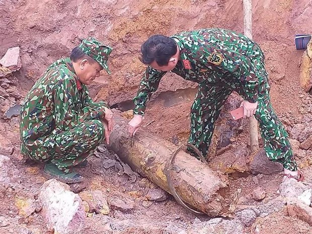 227 kg wartime bomb defused in quang binh