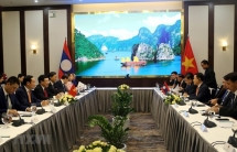 vietnam laos hold sixth ministerial consultation