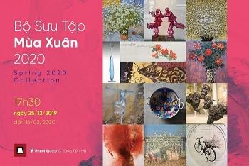 Spring-themed exhibition underways in Hanoi