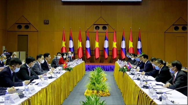Vietnam, Laos hold seventh annual foreign ministerial-level political consultation