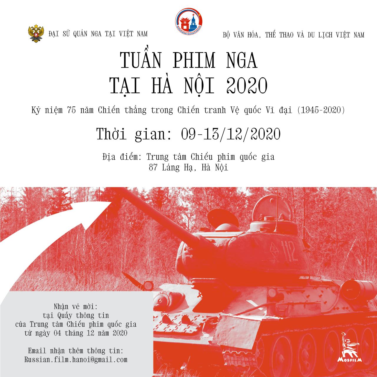 russian film week backs in vietnam