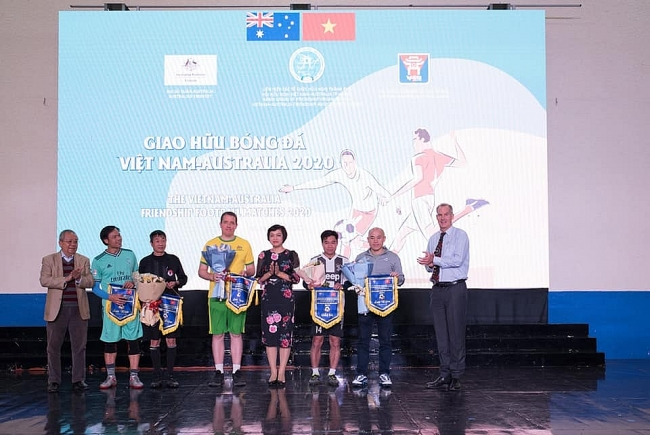 Vietnam - Australia friendship football tournament 2020