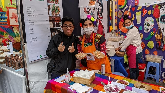 International Food Festival serves up global flavors in Hanoi