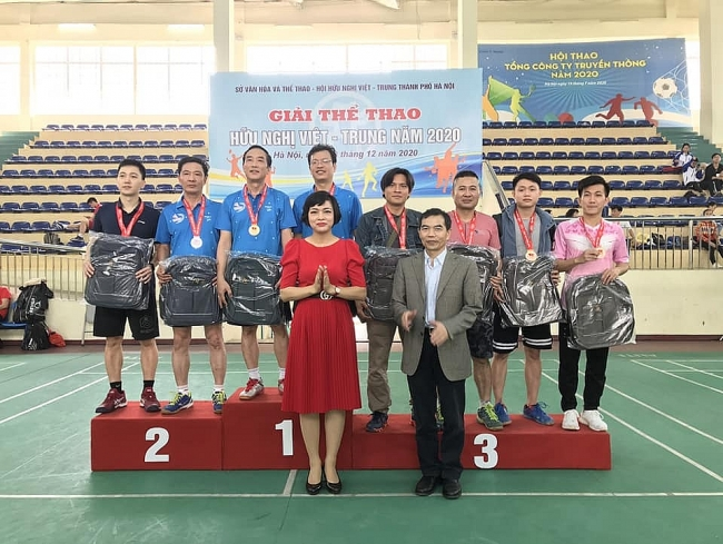 Sport exchange helps strengthen Vietnam-China solidarity