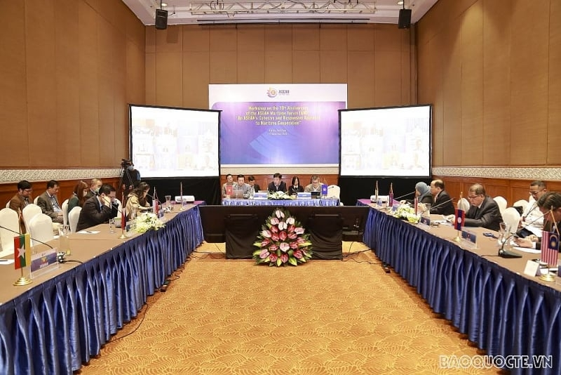 Workshop reviews ASEAN maritime cooperation over the past decade