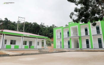 korean ngo builds new dormitory and library for vietnams rural boarding school