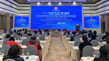 vietnam export promotion forum 2020 towards sustainable export