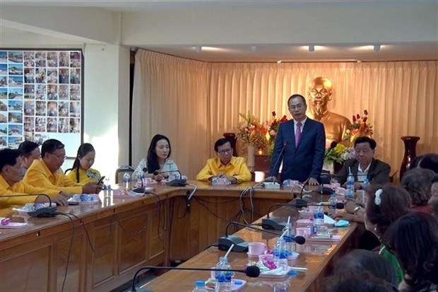 Ambassador visits OVs in Thailand's northeastern provinces