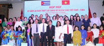 anniversary of vietnam cuba diplomatic ties observed in can tho