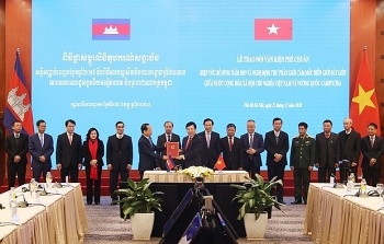 land boundary demarcation protocol between vietnam and cambodia take effect