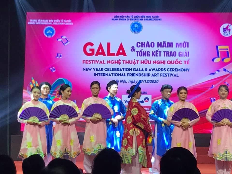New Year celebration: HAUFO holds International Art Friendship Gala