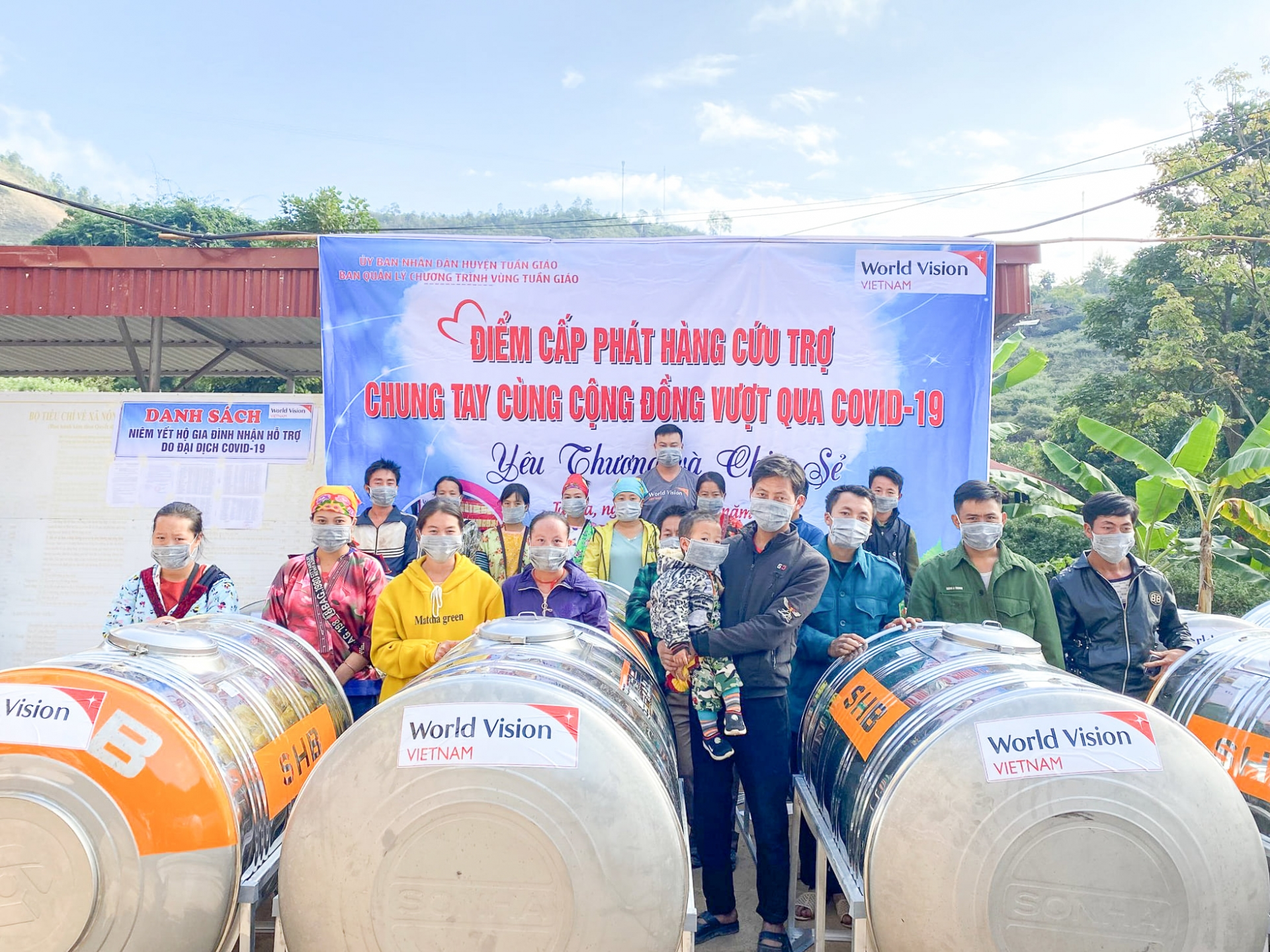 World Vision's COVID 19 Response and Recovery Program benefits Dien Bien