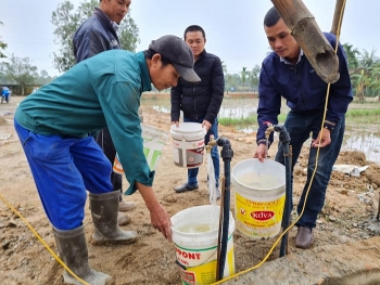 czech funded water project benefits local people in quang tris village