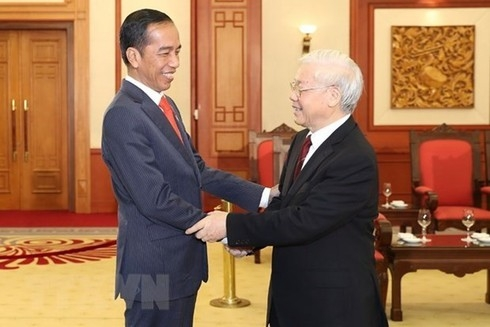 Congratulatory messages from vn's leaders to indonesia on 65th anniversary of diplomatic ties