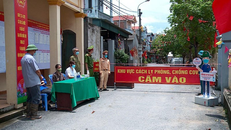 vinh phuc ends social distancing bac giang quarantines 3 more districts