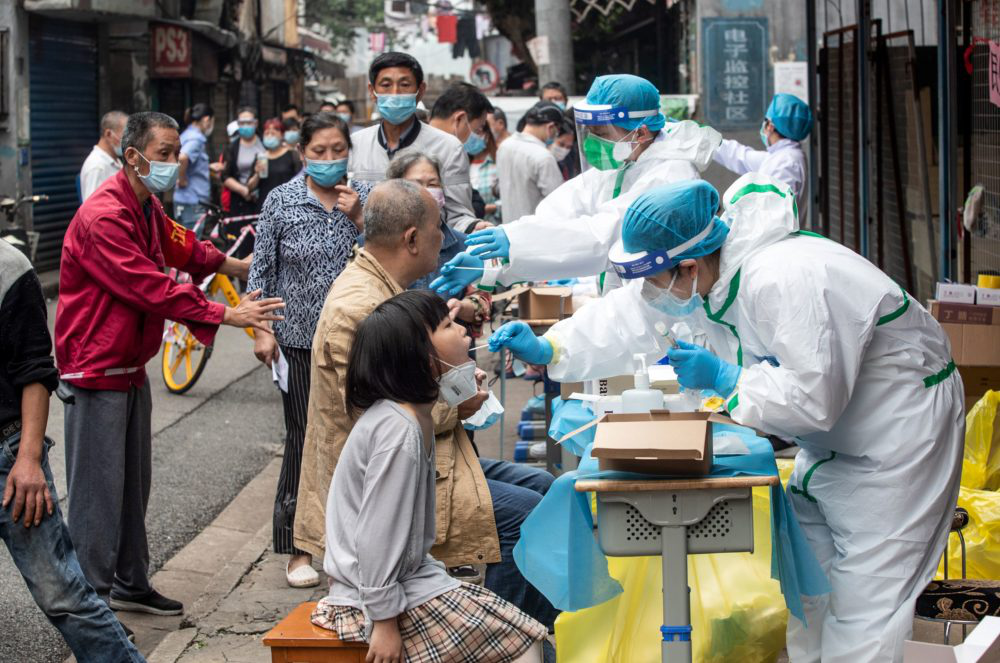 China denies claims of sickness at Wuhan lab before Covid-19 outbreak