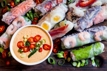 vietnamese summer rolls praised around the world