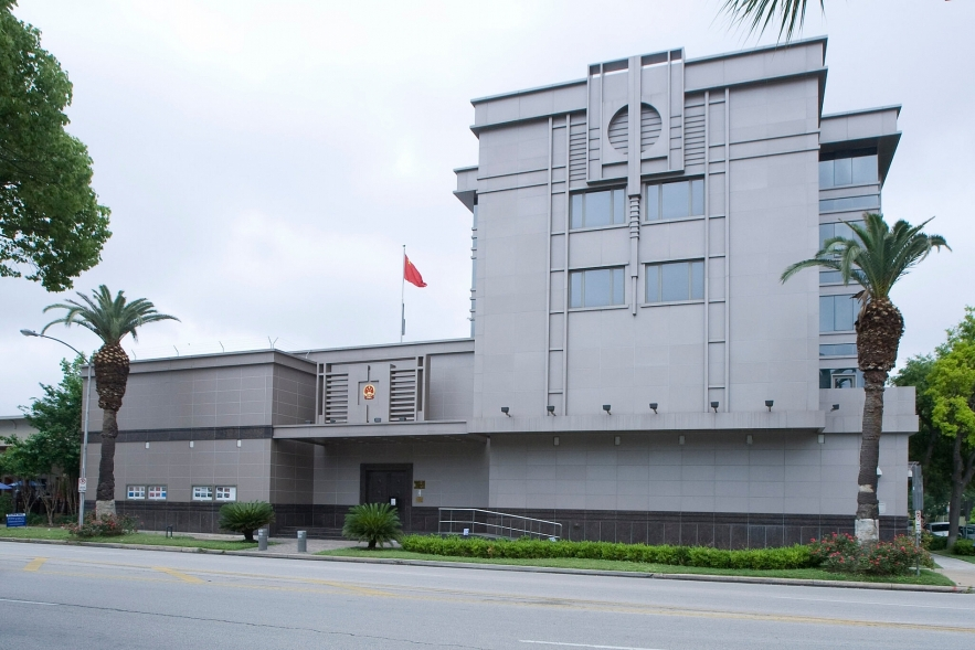 us china tension us ordered to close chinese consulate in houston