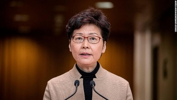 us officially sanctions hongkong chief executive carrie lam and other high ranking officials