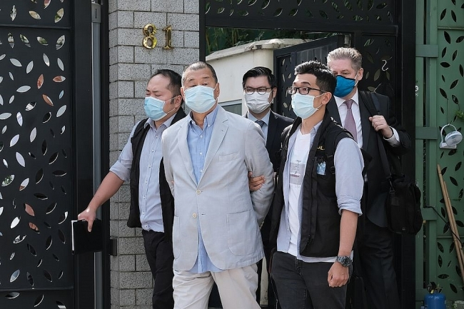 Hongkong Media Tycoon Jimmy Lai Arrested As New National Security Law Came Into Effect