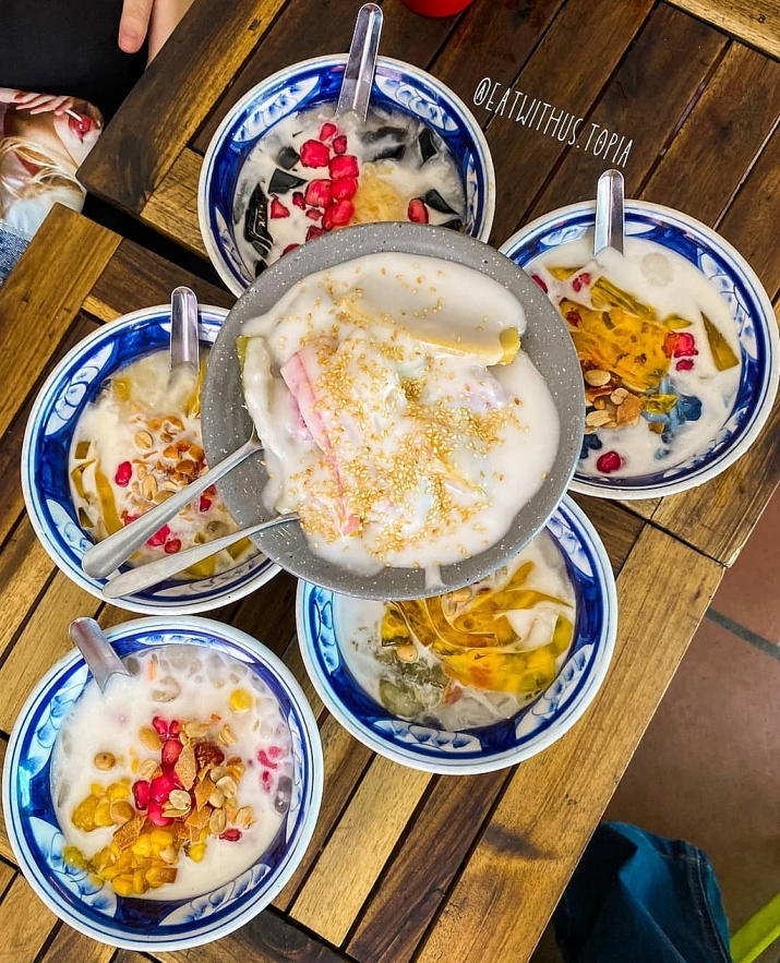 must try che sweet soup shops in ho chi minh city