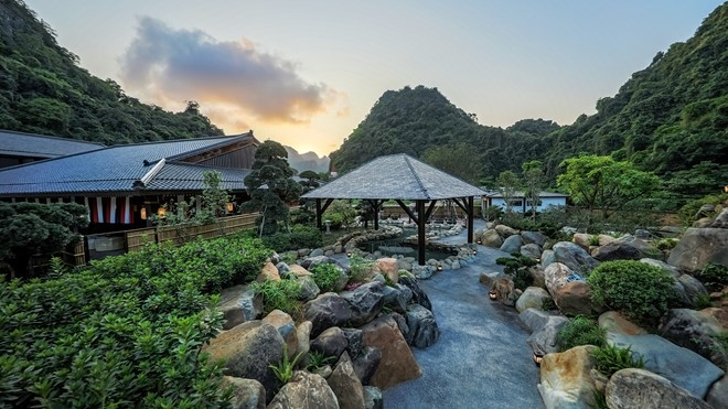 Quang Ninh: Japan-style village shrouded in mist of hot springs