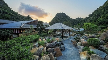 quang ninh japan style village shrouded in mist of hot springs