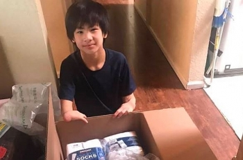 kind hearted vietnamese boy donates 12000 face masks to the homeless in washington