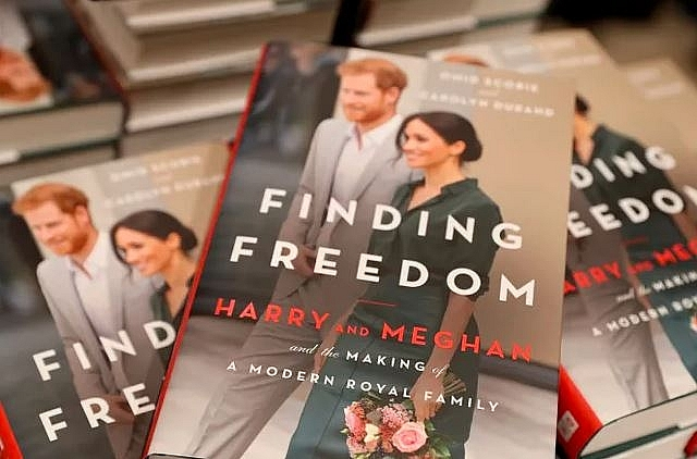 finding freedom about harry and meghan on the top selling of amazon
