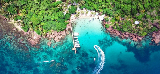 Breathtaking beauty of Phu Quoc from bird's eye view