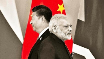 the latest actions of india in the middle escalating tension with china