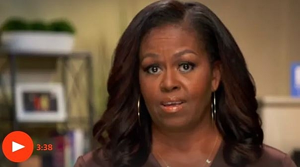 the us president mocked the former first lady mrs obamas wrong president remarks