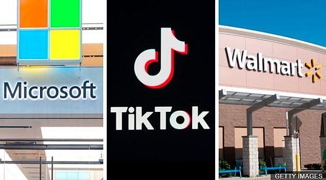 Tiktok to belong to Microsoft-Walmart or Oracle?
