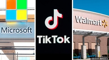 tiktok to belong to microsoft walmart or oracle