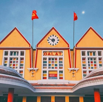 the most unique french architecture of the dalat railway station