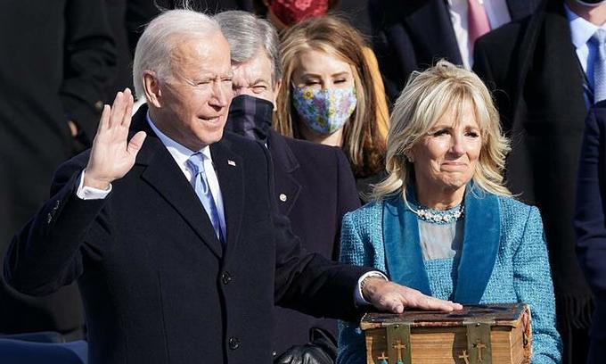 top leaders congratulate us president joe biden on inauguration