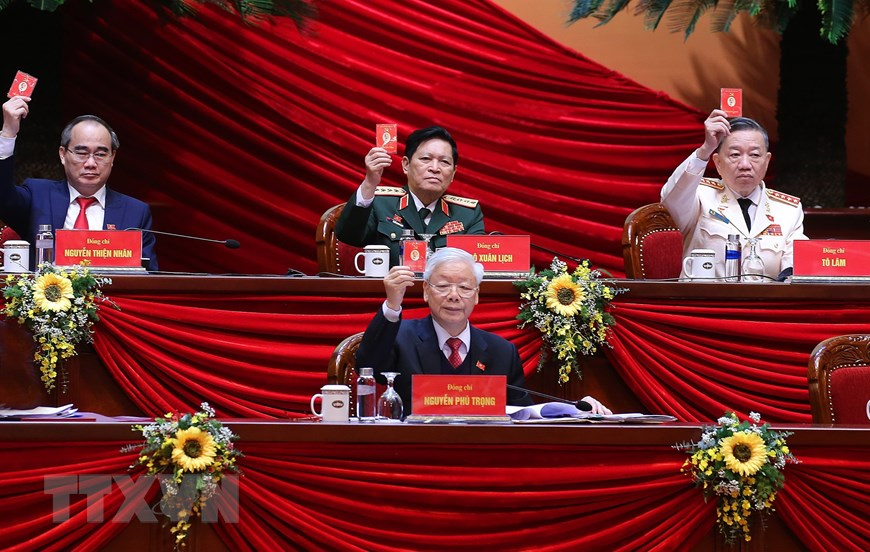 Vietnam 13th Party Congress preparatory session starts
