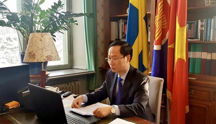 vietnam seeks stronger cooperation in innovation sustainable development with sweden
