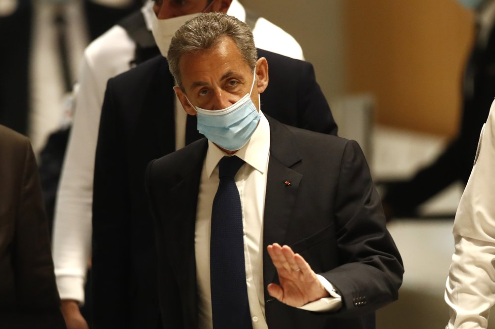 French former President Sarkozy convicted of corruption, sentenced to jail