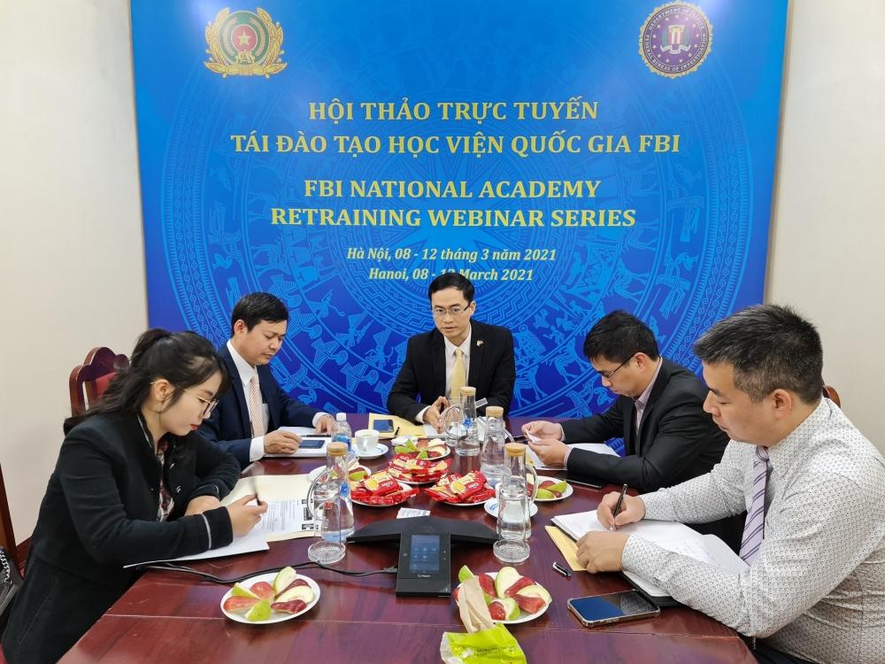 FBI helps Vietnam improve transnational crime combat capacity