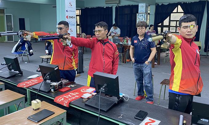 Vietnamese shooters hunting Olympic slots