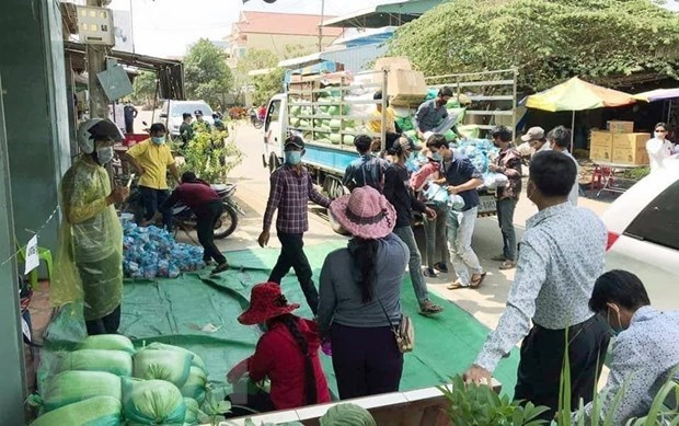 82 vietnamese in cambodia infected with covid 19