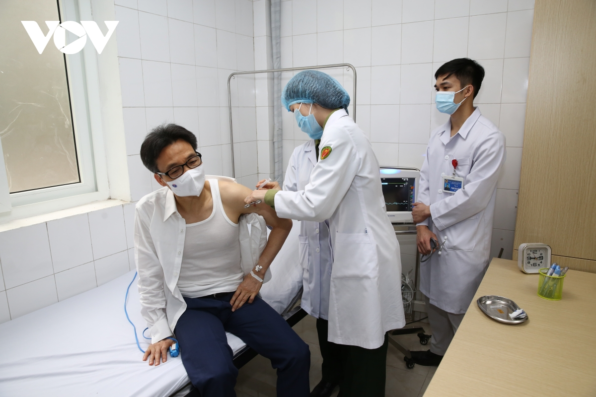 Deputy PM gets second shot of homegrown COVID-19 vaccine