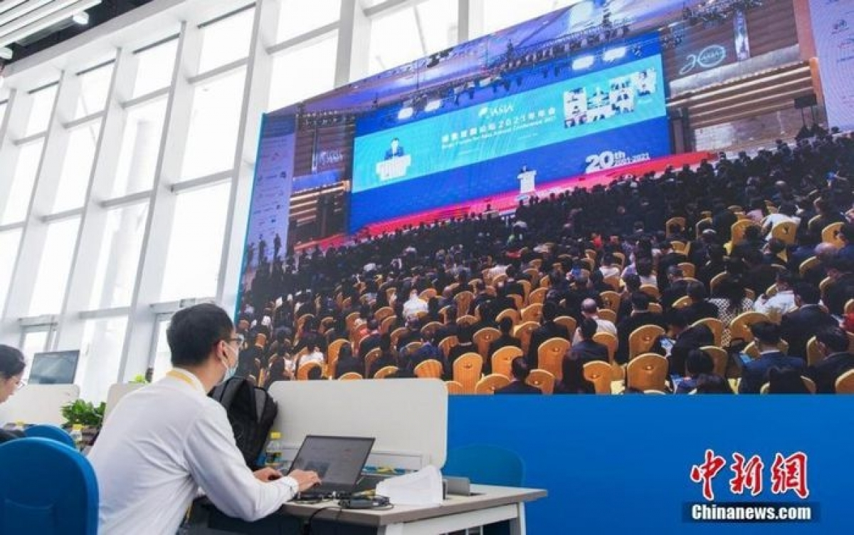 The 2021 Boao forum for Asia opens in China on April 18, drawing the participation of heads of state and government of many Asian countries, as well as economic experts, scholars and businesspeople in the region. (Photo: Chinanews)