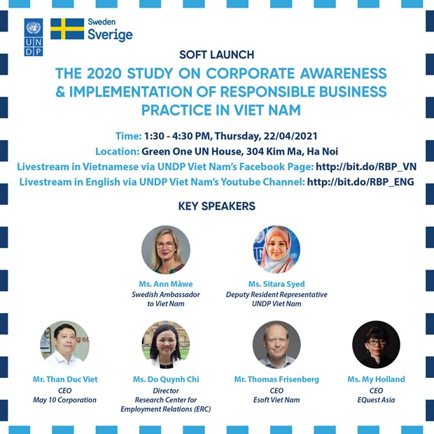 The poster of the event (Source: UNDP Vietnam)