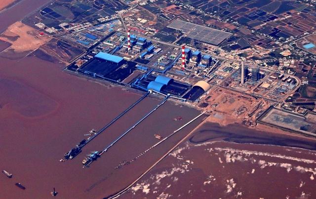 Duyên Hải Thermalpower Plant in Trà Vinh Province. VNA/VNS Photo