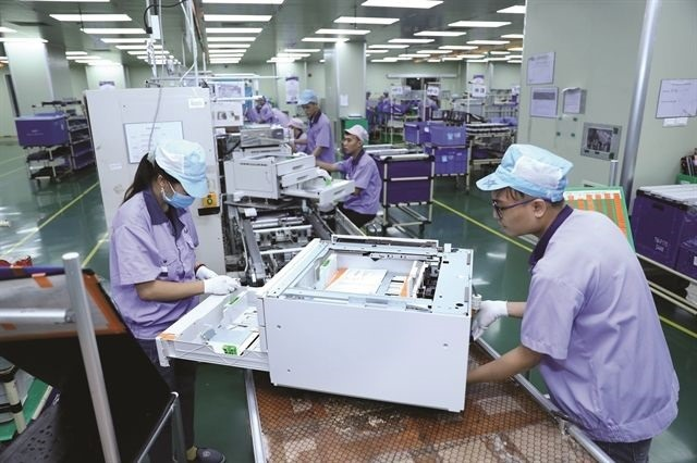 The Hong Kong-invested EVA Hải Phòng Precision Co Ltd's factory at the VSIP Hải Phòng Industrial Park. VNA/VNS Photo Danh Lam